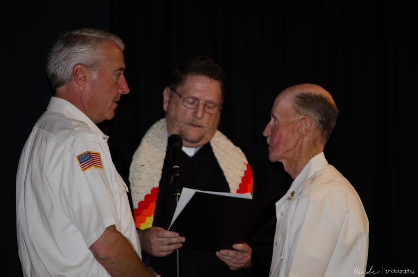 Patrick, Rev Bob, and Todd