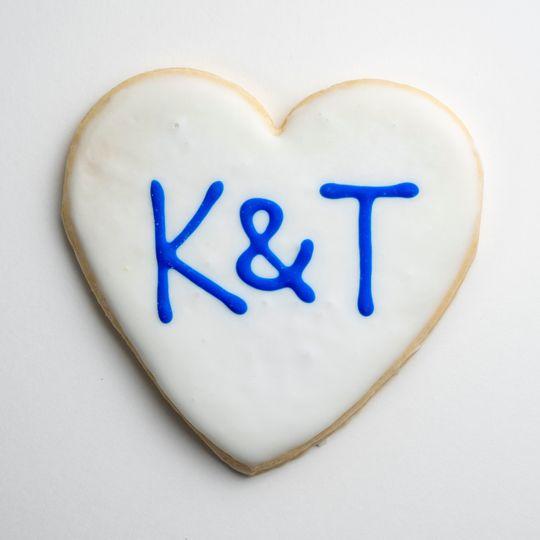 Initials Cookies