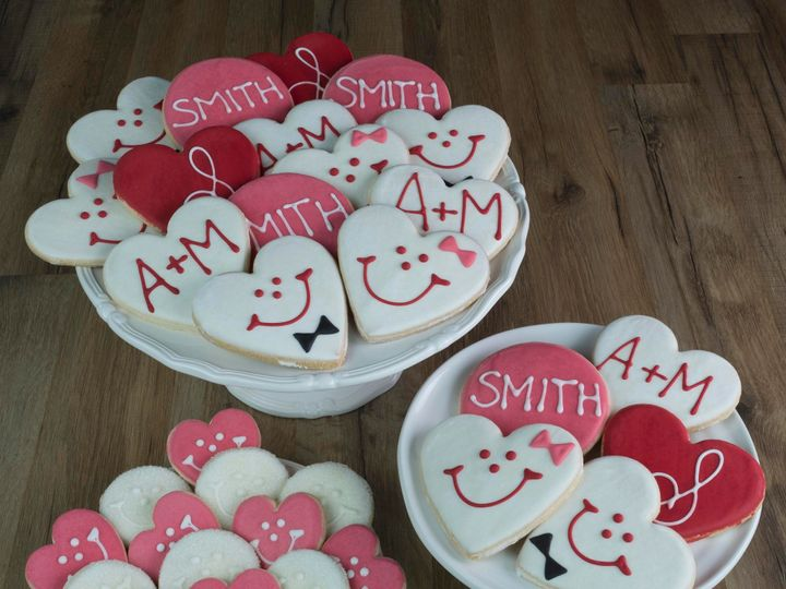 Tmx Cropped Custom Wedding Cookie Table Portrait Wood Surface 51 933998 1567694671 Pittsburgh, PA wedding favor