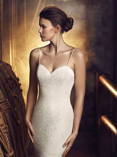 mikaella bridal fall 2016 wedding dress 1