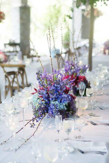 Wedding head table