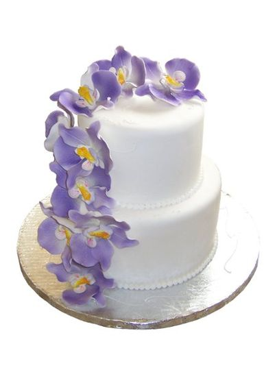 OrchidWeddingCake