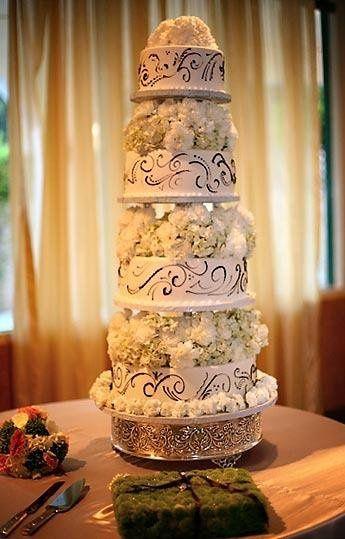 Tmx 1331762514870 Floralarrangement Canoga Park wedding cake