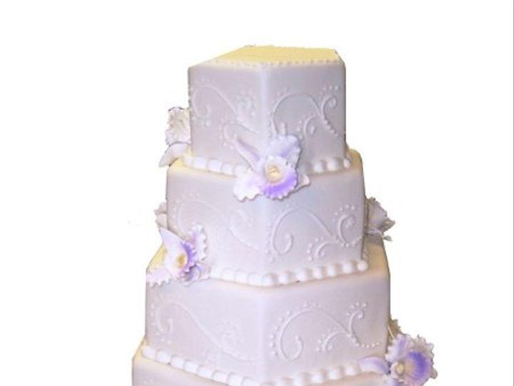 Tmx 1331831490921 5tierhexagonweddingcake Canoga Park wedding cake