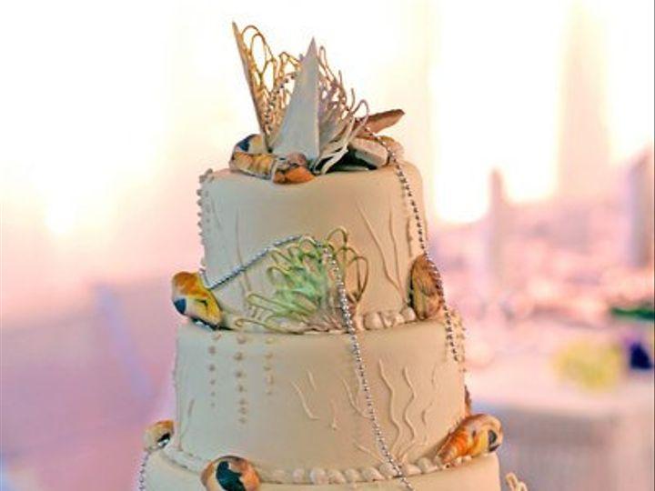 Tmx 1331831505828 Seashellweddingcake Canoga Park wedding cake