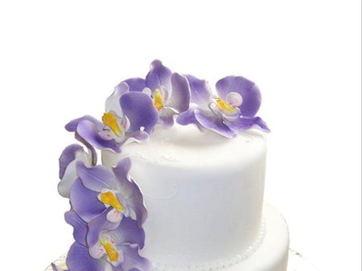 Tmx 1331832063916 OrchidWeddingCake Canoga Park wedding cake