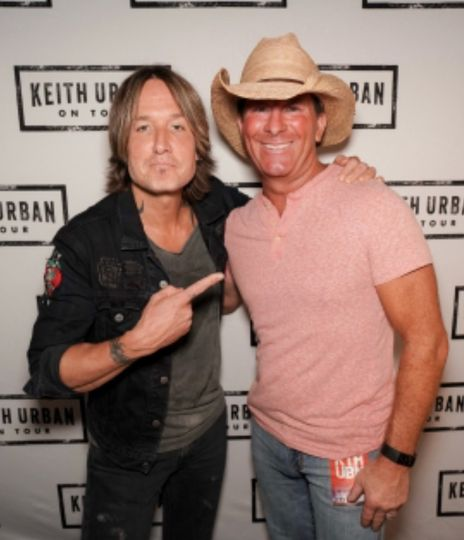 Mike w/ Keith Urban
