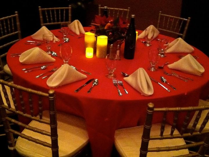 Tmx 1480087236147 Holiday Tablescape North Brunswick, NJ wedding catering