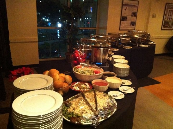 Tmx 1480087651630 Holiday Buffet Setup North Brunswick, NJ wedding catering