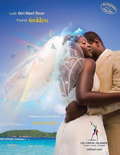 Bridal Shoot for Virgin Islands Tourism campaign!