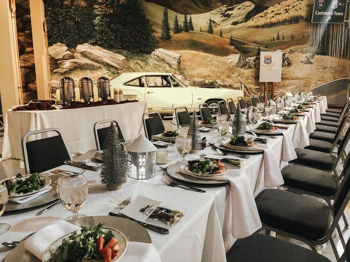 Tmx Holiday Party Table Set Up Rockies Backdrop 51 49998 161314504928489 Hershey wedding venue