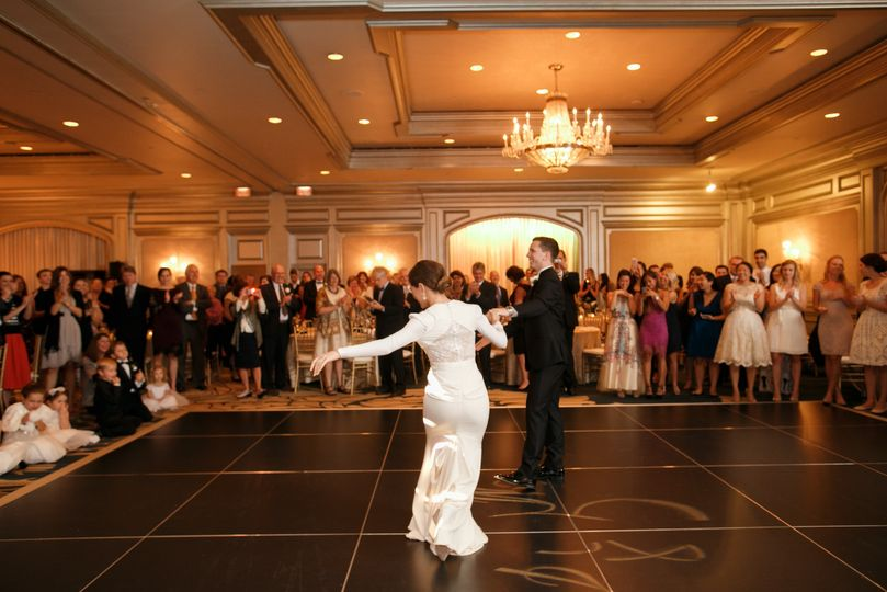 First Dance in The Ballroom