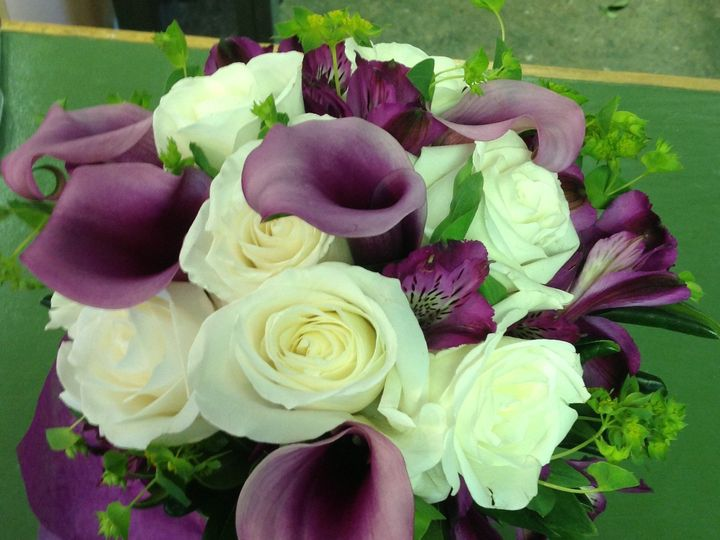 Tmx 1404761773577 Centerpiece Purple White Hampton, NH wedding florist