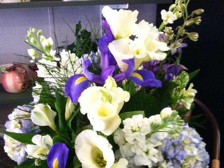 Tmx 1404845975385 Centerpiece White Purple Hampton, NH wedding florist