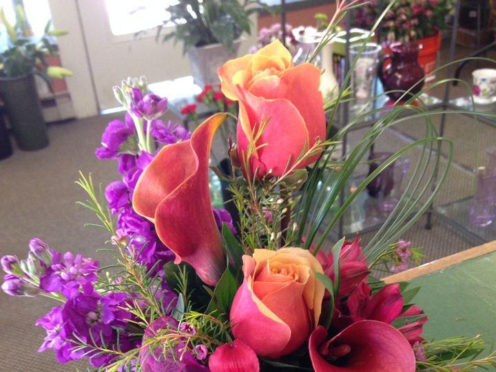 Tmx 1404846029134 Centerpiece Hot Pink Hampton, NH wedding florist