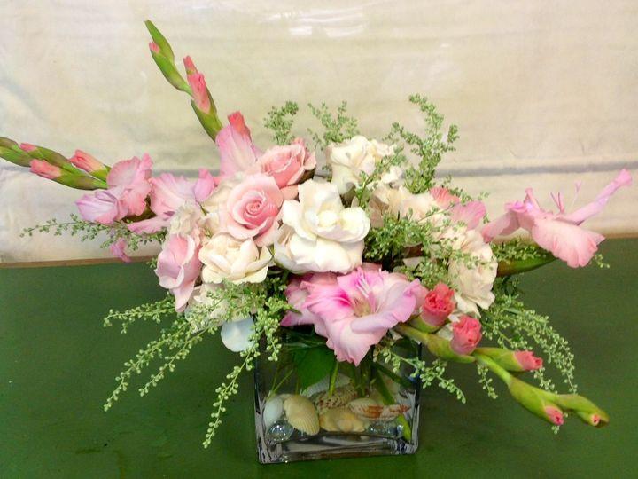 Tmx 1404846043712 Centerpiece Pink Shells Hampton, NH wedding florist