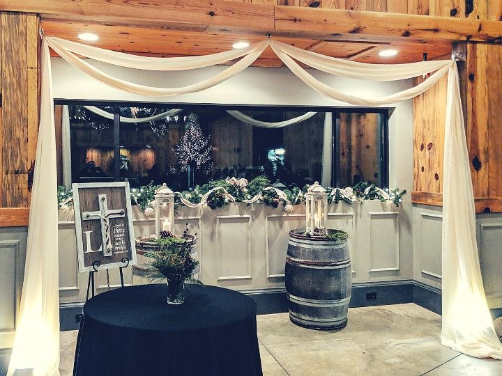 Indoor ceremony nook