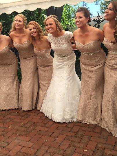 Beige themed wedding