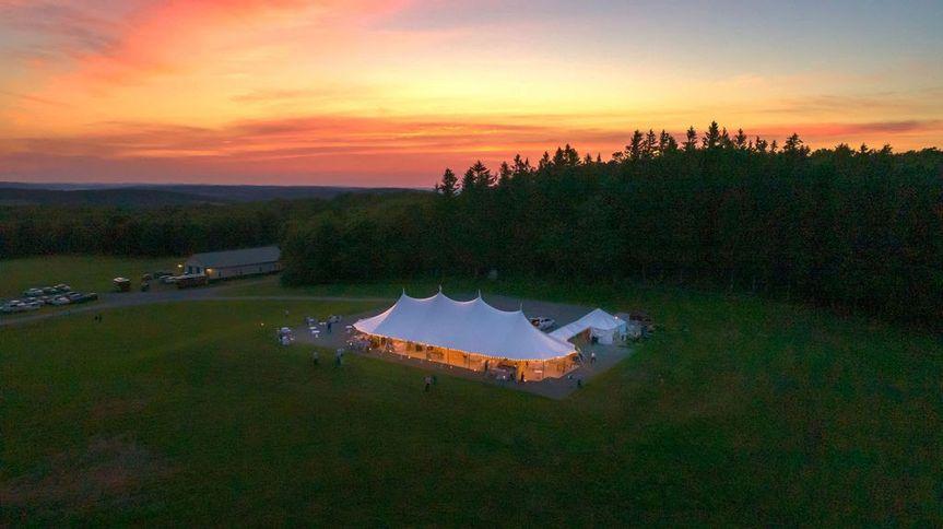 Reception at Sunset