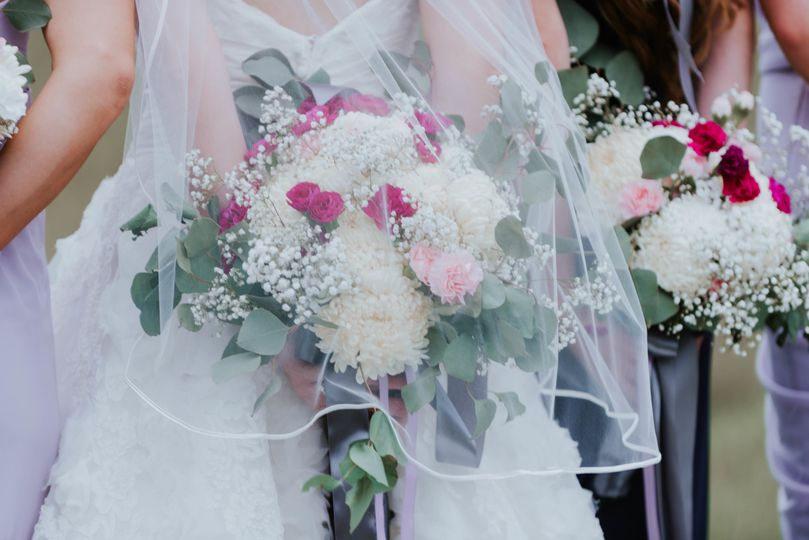 Garden Wedding Bridal Bouquets