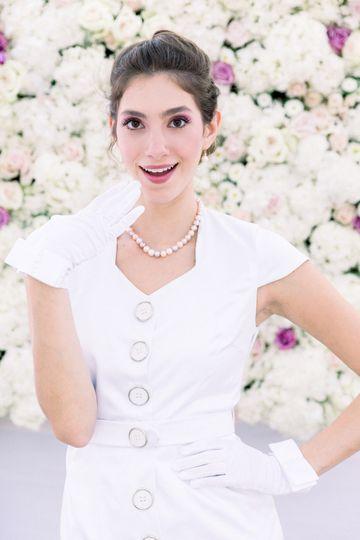 Smiling bride - coat dress - trench - GACITUA