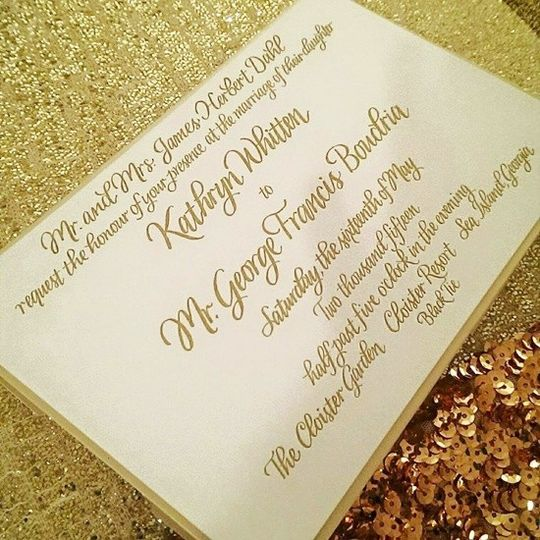 Calligraphy By Jennifer Invitations Nationwide Ky