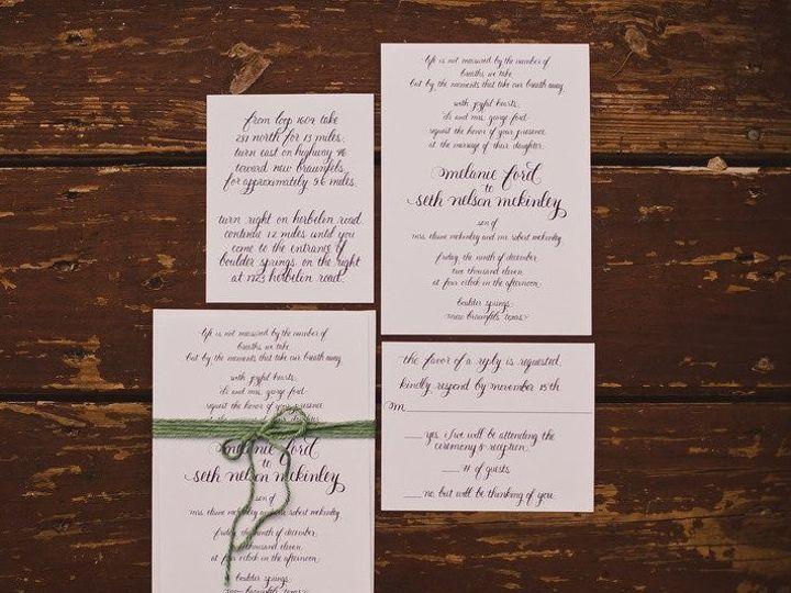 Tmx 1459956251335 Custom Invitation  Fisherville wedding invitation
