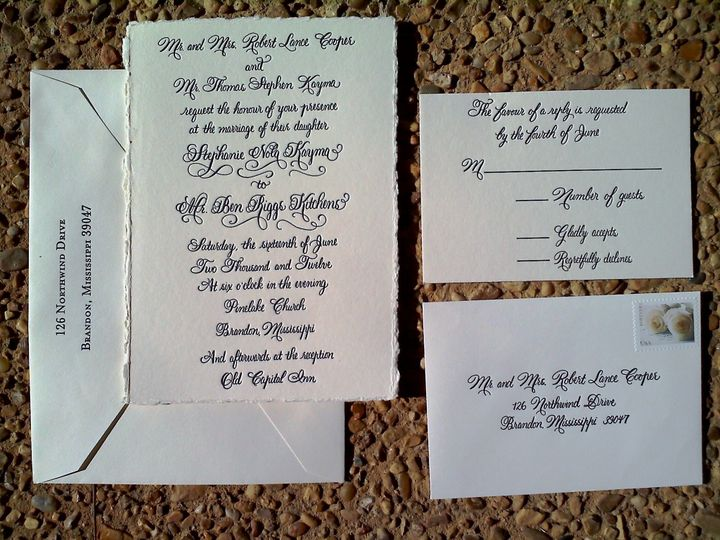 Tmx 1459956306617 Use As Main Thumbail And You Can Just Write Custom Fisherville wedding invitation
