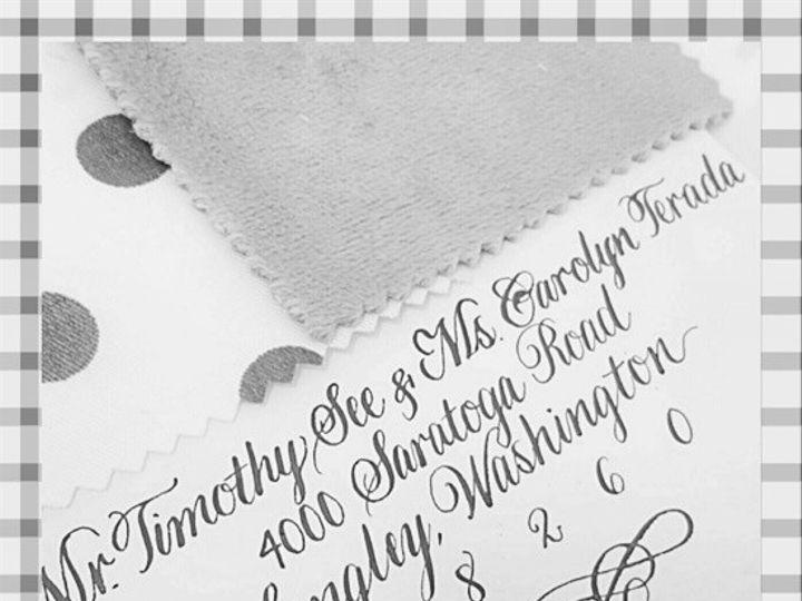 Tmx 1477156128676 Edwardian In Gray Ink Fisherville wedding invitation