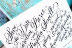 Calligraphy by Jennifer image