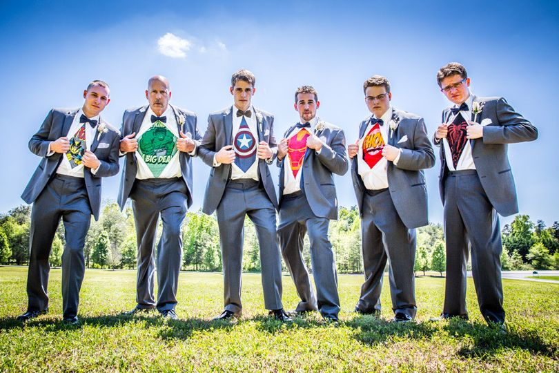 Want to have a creative, superhero wedding photo? Peter Togel Photography delivers!