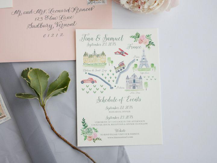Tmx  Mg 7444 51 916009 V2 Nanuet, NY wedding invitation