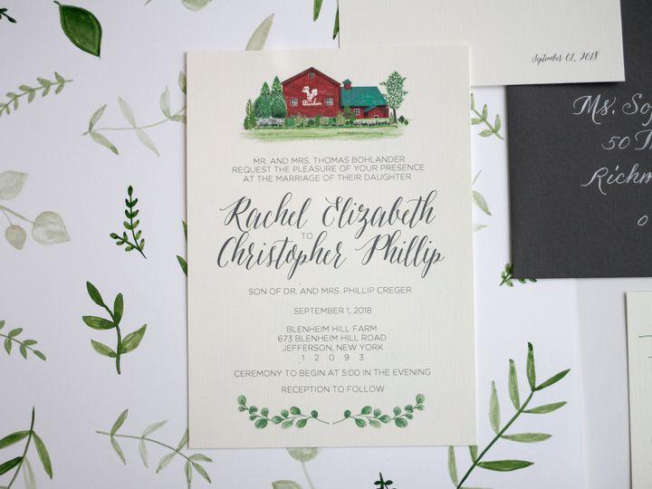 Tmx  Mg 7489 51 916009 V1 Nanuet, NY wedding invitation