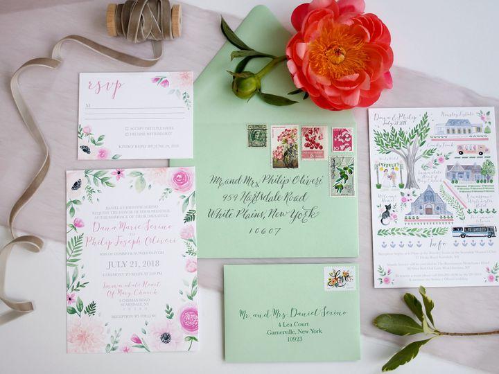 Tmx  Mg 7650 51 916009 V1 Nanuet, NY wedding invitation
