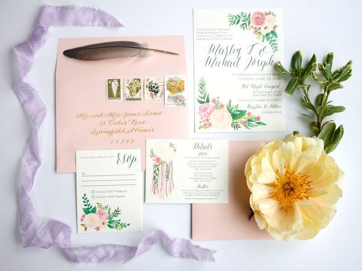 Tmx  Mg 7737 51 916009 V1 Nanuet, NY wedding invitation