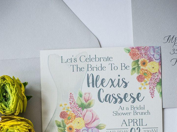Tmx 1458159047746 Stephanie 0002 Nanuet, NY wedding invitation
