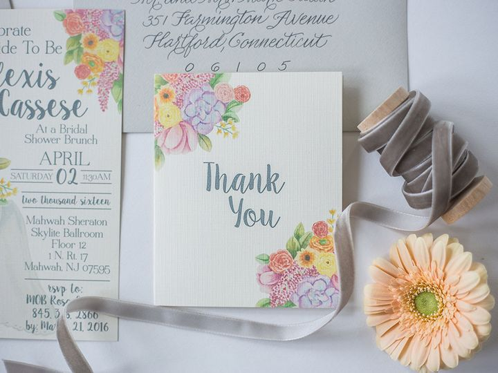 Tmx 1458159055276 Stephanie 0003 Nanuet, NY wedding invitation