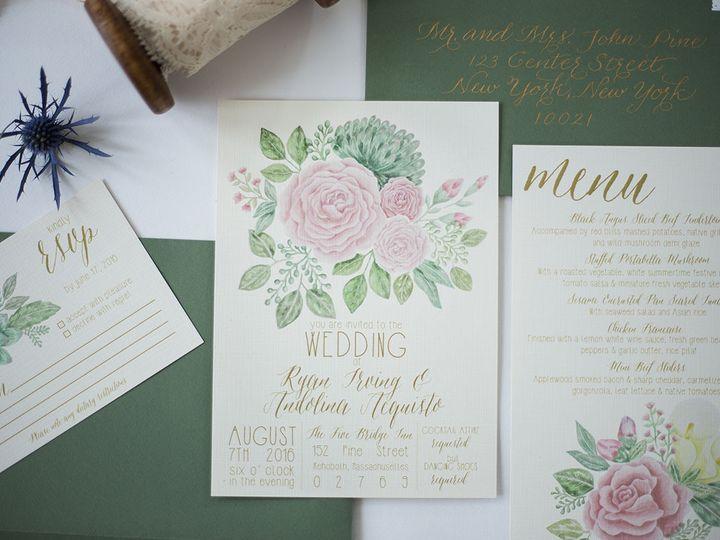 Tmx 1458159225864 Stephanie 0002 Nanuet, NY wedding invitation