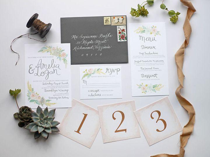 Tmx 1491163622798 001 Nanuet, NY wedding invitation
