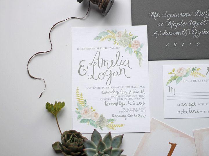 Tmx 1491163623021 002 Nanuet, NY wedding invitation
