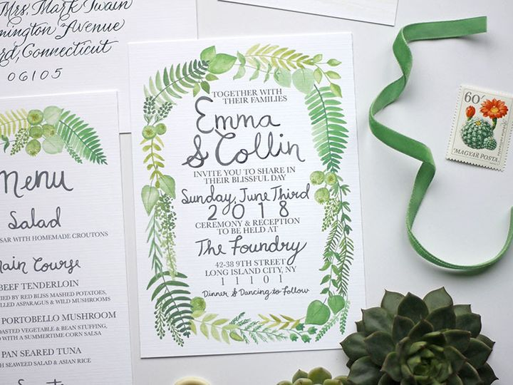 Tmx 1491164152390 013 Nanuet, NY wedding invitation