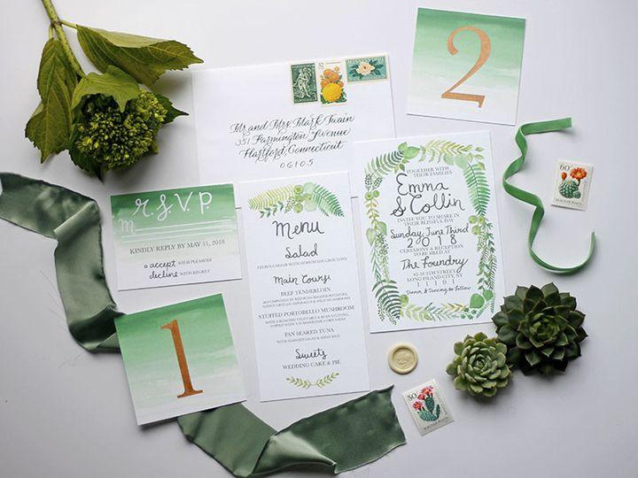 Tmx 1491164153263 012 Nanuet, NY wedding invitation