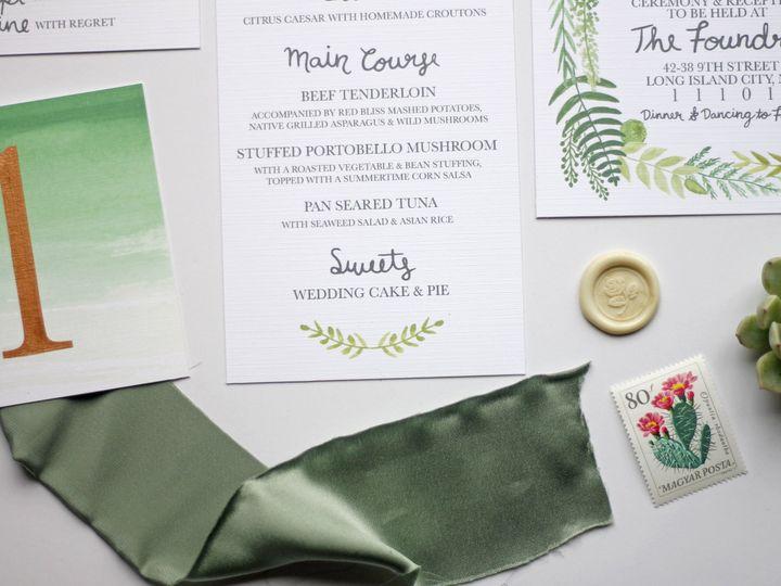 Tmx 1491164200283 018 Nanuet, NY wedding invitation