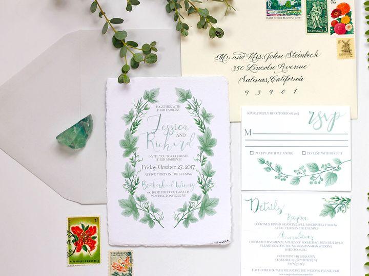 Tmx 1505144193065 02 Nanuet, NY wedding invitation