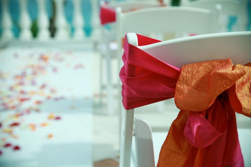 Wedding setup design