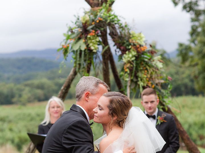Tmx 1495571351537 Bride And Father Kiss Best Charlottesville, VA wedding officiant