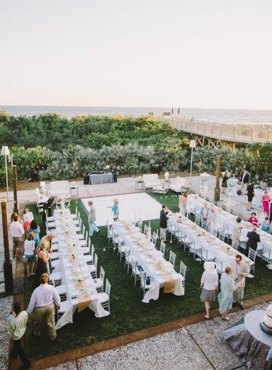reception on inn green