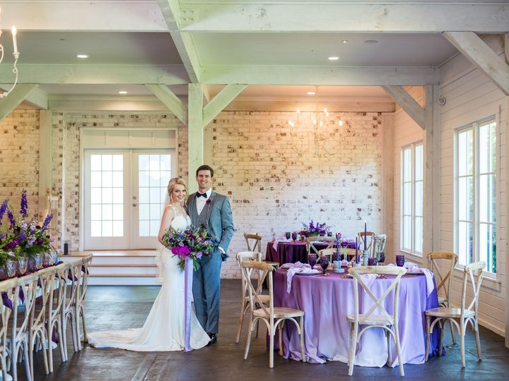 Tmx Barn At Little River Purple Styled Shoot 218 51 1068009 1564196447 Alpharetta, GA wedding venue