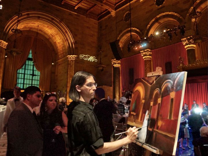 Live Event Painter Anthony Galati