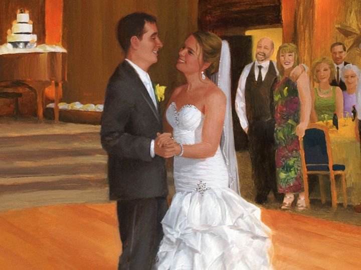 Tmx 1377482620054 Jackie  Randalls Wedding Live Event Painting Cr Morristown, NJ wedding favor